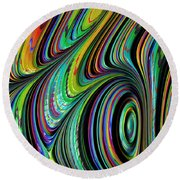 Spectrum Round Beach Towel
