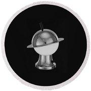 Spherical Lamp With Chromium Base Round Beach Towel