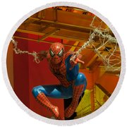Spider Man Round Beach Towel