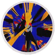 Spinart Revival II Round Beach Towel