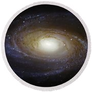 Spiral Galaxy M81 Round Beach Towel