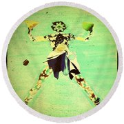 Spread Eagle Round Beach Towel
