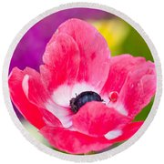 Spring Colors   Round Beach Towel
