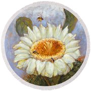 Spring Trio Round Beach Towel