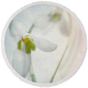 Springflower Round Beach Towel