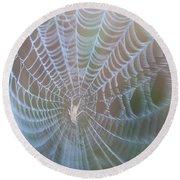 Spyder's Web Round Beach Towel