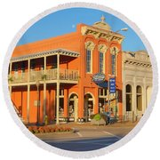 Square Books Oxford Mississippi Round Beach Towel