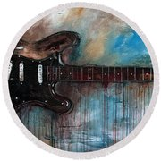 SRV Round Beach Towel