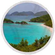 St Johns Round Beach Towel