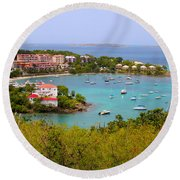 St John's View Round Beach Towel