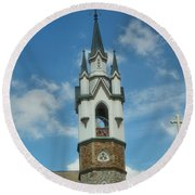 St. Mark's Episcopal Church Grand Rapids Round Beach Towel