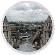 St Paul's View Round Beach Towel