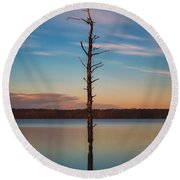 Stand Alone 16x9 Crop Round Beach Towel by Michael Ver Sprill
