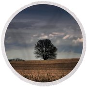 Stand Alone Round Beach Towel