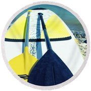 Stand Up Paddle Board Round Beach Towel
