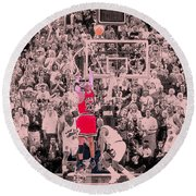 Round Beach Towel featuring the photograph Standing Out From The Rest Of The Crowd by Brian Reaves