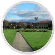 Stanford University Round Beach Towel