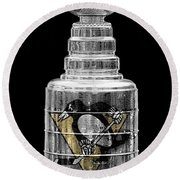 Stanley Cup 8 Round Beach Towel