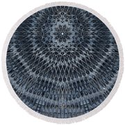 Star Dome Round Beach Towel