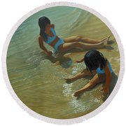 Star Maker Round Beach Towel
