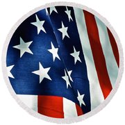 Star-spangled Banner Round Beach Towel