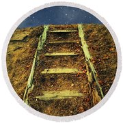 Starclimb Round Beach Towel by RC deWinter