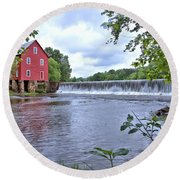 Starrs Mill Round Beach Towel