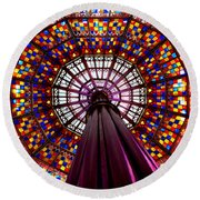 State House Dome Round Beach Towel by Charlie and Norma Brock