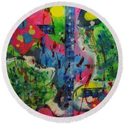 Stay Cool Round Beach Towel