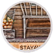 Stayawhile Round Beach Towel