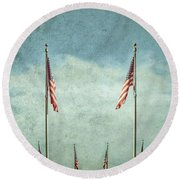 Steadfast Round Beach Towel