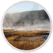 Steam Creek Round Beach Towel