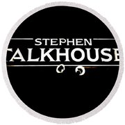 Stephen Talkhouse Round Beach Towel