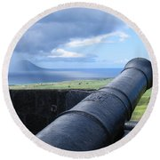 St.kitts Nevis - On Guard Round Beach Towel