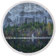 Stone Mountain - 2 Round Beach Towel by Charles Hite
