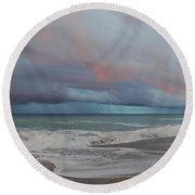 Storms Comin' Round Beach Towel by Mim White