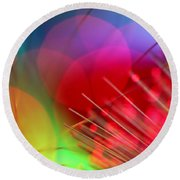 Strange Days Round Beach Towel