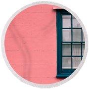 Suffolk Pink Round Beach Towel