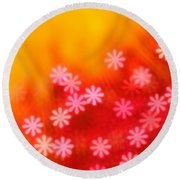 Sugar Magnolia Round Beach Towel