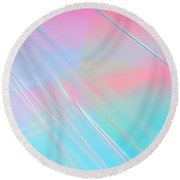 Summer Breeze Round Beach Towel