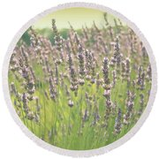 Round Beach Towel featuring the photograph Summer Dreams by Lynn Sprowl