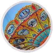 Summertime Classic Round Beach Towel