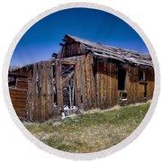 Summitville - Colorado Ghost Town Round Beach Towel