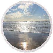 Sun And Sand Round Beach Towel