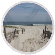 Sun And Sand Round Beach Towel by Christiane Schulze Art And Photography