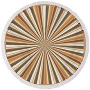 Sun Chakra Gold Round Circle Sparkle Motivational Decoration Yoga Meditation Tool Round Beach Towel