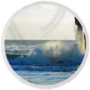 Sun Splash Round Beach Towel