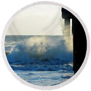 Sun Splash II Round Beach Towel
