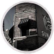 Sun Studio - Memphis Round Beach Towel