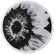 Sunflower Round Beach Towel by Katharina Filus